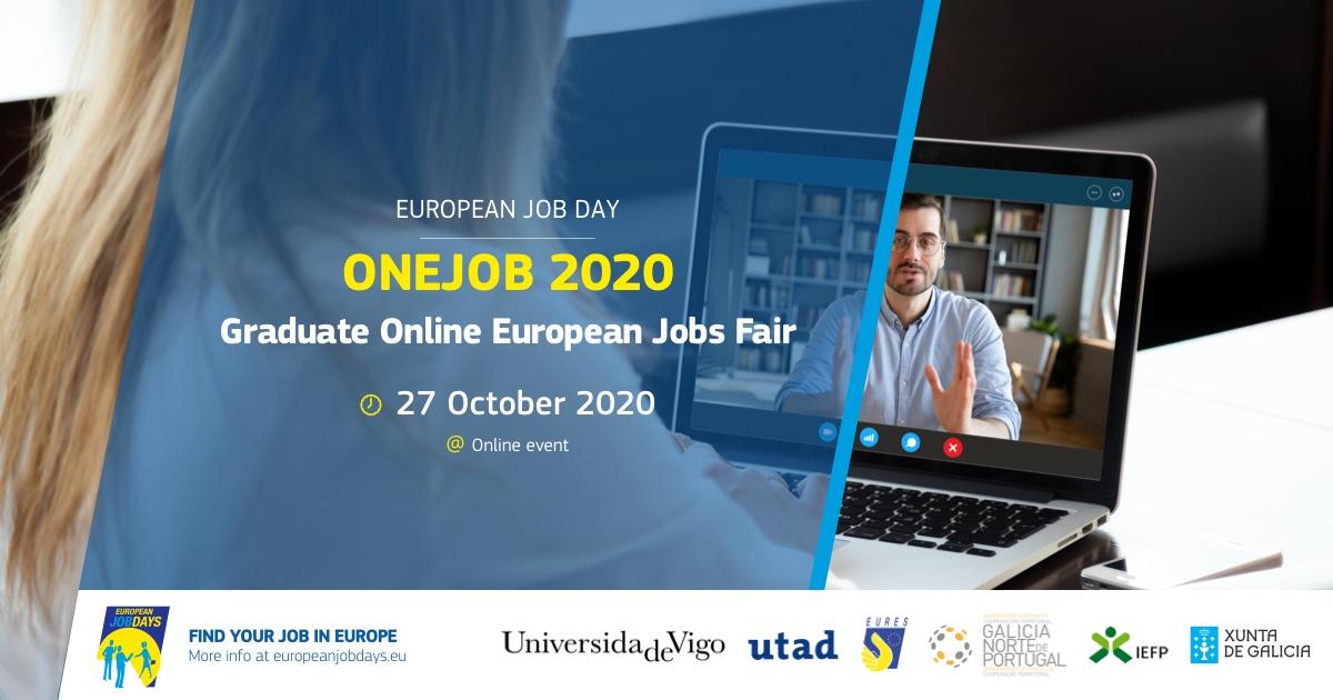 OnEJob2020 (Feira de Emprego – On Line- para Titulados Universitarios)